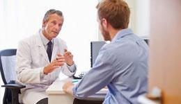 Прием терапевта в клинике